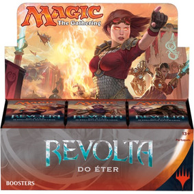 Booster Magic The Gathering Revolta Do Éter Pt (kit 03 Pç)