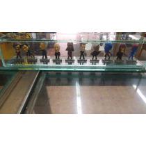 Coleccion Completa De Figuras Xmen Con Vitrina De Cristal