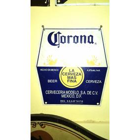 Chapa Original De Cerveza Corona De Mexico