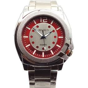 d9ab47aa33e Relógio De Pulso Analógico C  Pulseira De Aço Luxo