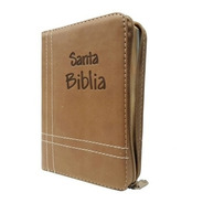 Biblia Reina Valera 1960 Mediana Cierre Café Letra Mayor