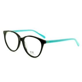 ce0f24368943b Armação Oculos Grau Feminino Ch8 Acetato Importado Original. R  100