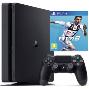 Playstation 4 Ps4 Slim 1tb+ Fifa 19 (fisico) // Huamansales