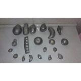 Moldes De Alumínio Para Frutas Em Parafina Artesanato