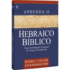 Livro Aprenda O Hebraico Bíblico / Capa Brochura