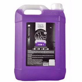 Shampoo 3 Em 1 Pet Clean Para Cães E Gatos - 5 Litros