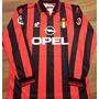 Camisa Milan 1996/97 Roberto Baggio Mangas Longas Raríssima