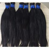 Cabelo Natural Humano 65cm 150 Gramas P Mega Hair Virgem
