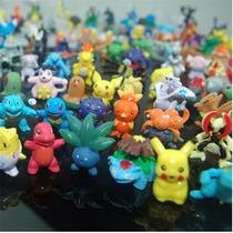 Pokemo Go Lote De 24 Bonecos Miniatura Colecionadores