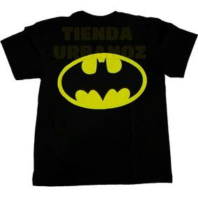 Camiseta Batman Niño Talla (2-16) Estampada Tienda Urbanoz