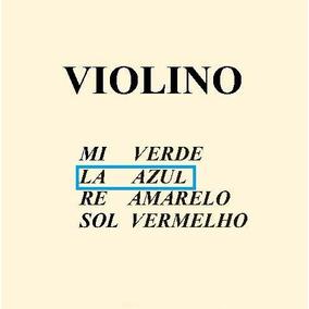 Corda Lá Avulsa Para Violino - Mauro Calixto Original***