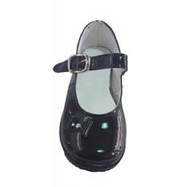 Zapatos Charol Negros Beba-nena. Ideal Bautismo-cumpleaños
