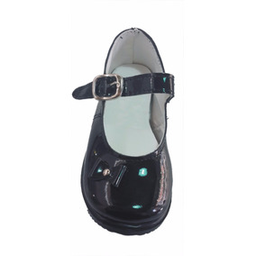 Zapatos Charol Negros Nena. Ideal Cumpleaños-cortejo Talle24
