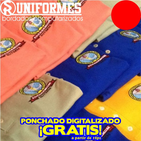 Uniformes Playera Polo Bordado Empresa