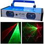 Laser Rojo Verde Dos Cabezas De Luz Láser Luces Sicodelicas