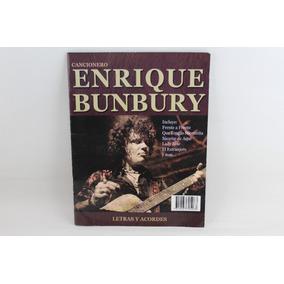 R458 Enrique Bunbury -- Cancionero Letras Y Acordes