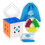 Cubo Mágico 3x3x3 Gan 356 M Magnético Colorido Profissional