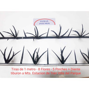 Pack X 10 Mts Proteccion Medianera Pinches Con Embalaje