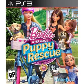 Barbie Resgate De Cachorrinhos - Jogo Infantil Ps3 Menina