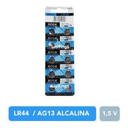 10 Pilas Boton Alcalinas Lr44 Ag13 A76 357 1,5v Soda Luces