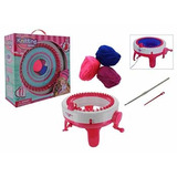 Maquina De Tejer Infantil Circular Con Pie 35x36cm En Caja