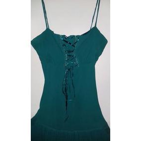 c4c2f631061 Vestido De Fiesta Largo Verde Esmeralda - Ropa