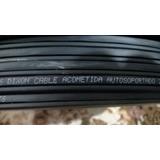 Cable Acometida 2 Hilos Dixon Telefónica 305m Con Mensajero