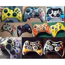 Skin Personalizados Para Controles Xbox Ps3 Ps4 Wii