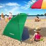Portable Playa Sol Sombra Pabellón Carpa Al Aire Libre