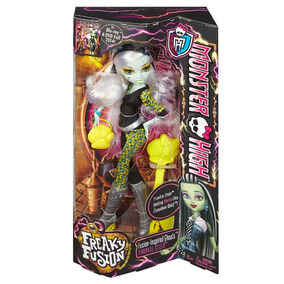 Muñeca Frankie Stain Fusion. Monster High. Original Mattel!