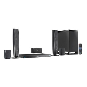 Blu Ray Con Home Theater Panasonic Sc-btt370 5.1 Canales 3d