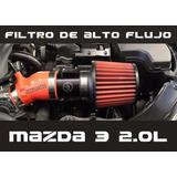 Filtro Jbr Alto Flujo Para Mazda 3 2.0 L 2014 - 2018