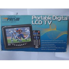 Tv Portatil Lcd Pantalla De 7 Pulgadas. Digital Prism Nuevo