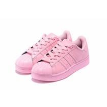 Adidas Superstar Rosa Bebe