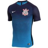 Camisa Nike Corinthians Azul 16/17 Original - Hema Esportes