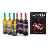 Caja 6 Botellas La Fuerza Mix (3 Blanco + 3 Rojo)