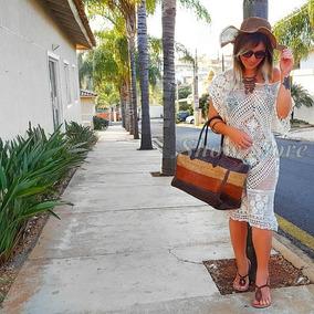 Blusa Saída De Praia Bata Moda Verão Roupas Femininas 2735