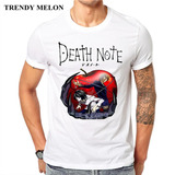 Remera Japonesa Comics Imprimir Men Death Note Divertido Ho