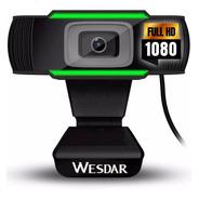 Camara Web Wesdar Webcam Usb Hd 720p Plug & Play Microfono