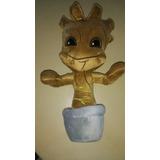 Baby Groot Grut Guardianes De La Galaxia Maceta Peluche