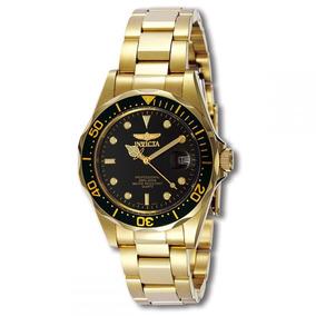 Reloj Invicta 8936 Hombre Pro Diver 18k Gold Ion-plated
