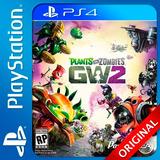 Plants Vs Zombies Ps4 Digital Español Garden Warfare 2