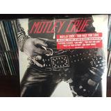 Mötley Crüe - Too Fast For Love Lp Vinyl Ltd Ed Transparente