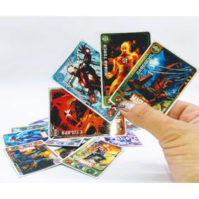 400 Cards Fechados Cards=100pct Marvel Super Herois Promoção