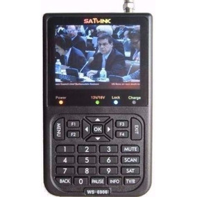Localizador De Satelite Satlink Ws6906 Com Tv Dvb-s