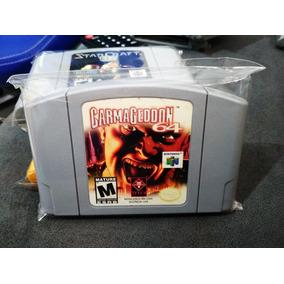Carmageddon Original Nintendo 64 Americano