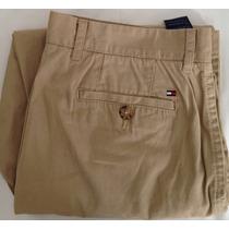 Pantalon Tommy Hilfiger Prenses Dryl 100% Orig Talla 33/30
