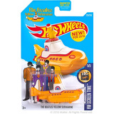 Hot Wheels Beatles Submarino Amarillo Yellow Submarine