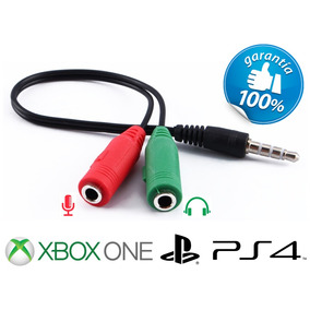 Adaptador De Headset Pc Para Xbox One Playstation 4 Ps4