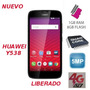 Huawei Y538 Union 4g, Quad-core, 1gb Ram, 8gb, 5mp, Android